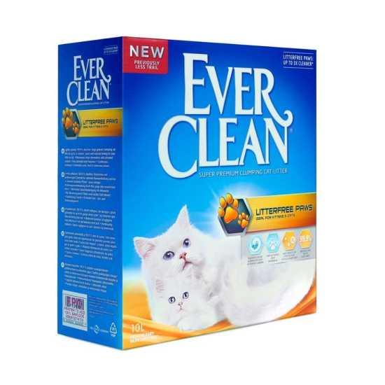 EVER CLEAN posip za mačke LitterFree Paws - grudvajući 10L