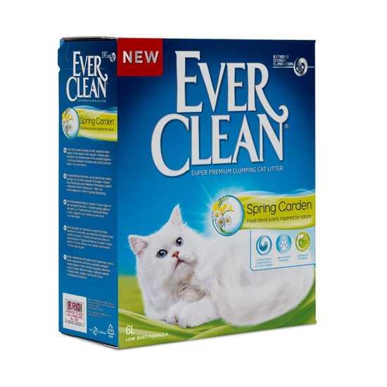 EVER CLEAN posip za mačke Spring Garden - grudvajući 6L
