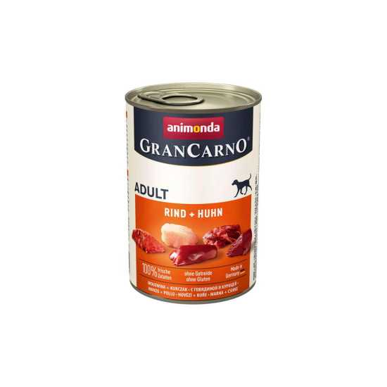 Animonda GranCarno konzerva za pse Adult govedina i piletina 800gr