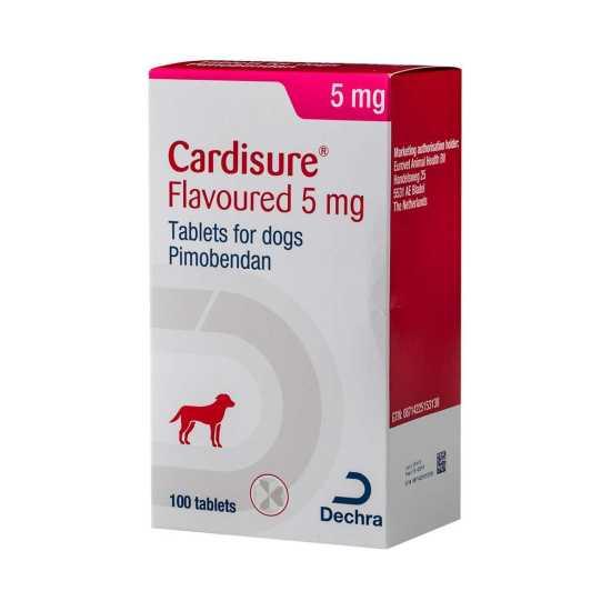 Cardisure Flavor 5 mg (100 tableta)