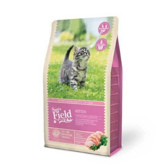Sam's Field hrana za mačiće KITTEN - piletina - 400gr