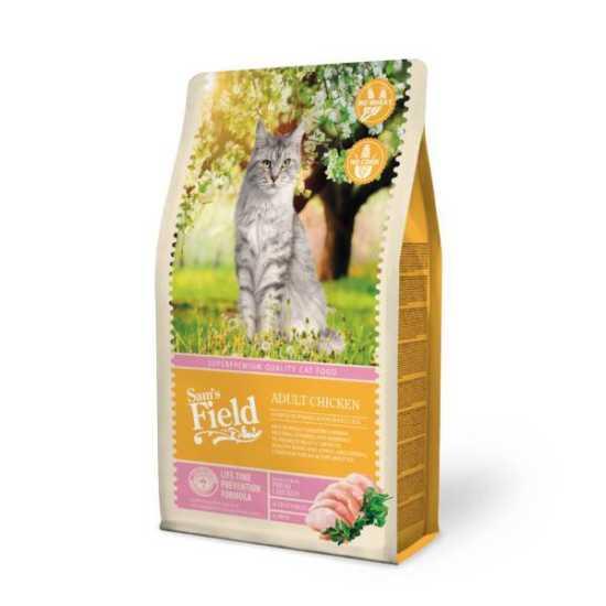 Sam's Field hrana za mačke Adult - piletina - 400gr