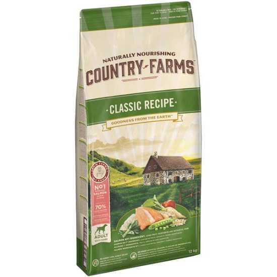 Country Farms hrana za pse Classic Adult Losos 12kg