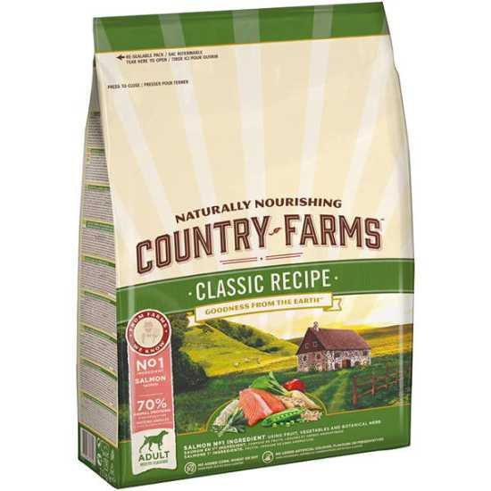 Country Farms hrana za pse Classic Adult Losos 2.5kg