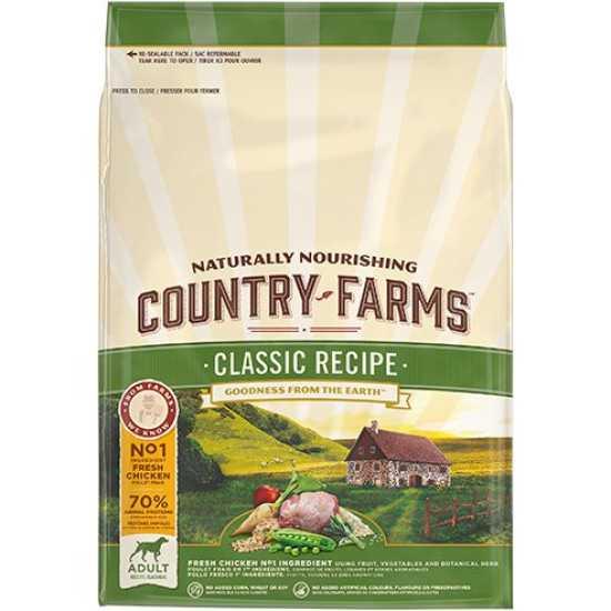 Country Farms hrana za pse Classic Adult Piletina 2.5kg