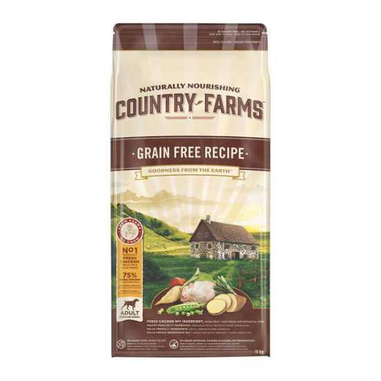 Country Farms hrana za pse Grain Free Adult Piletina 11kg