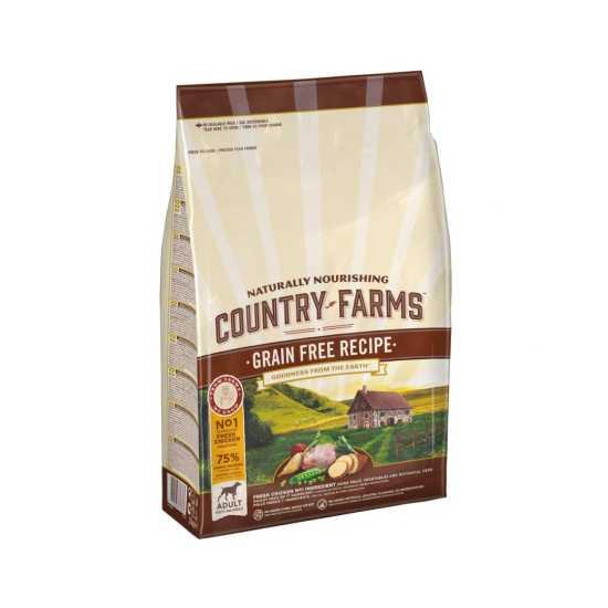Country Farms hrana za pse Grain Free Adult Piletina 2.5kg