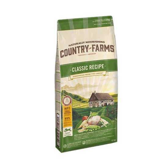 Country Farms hrana za štence Classic Puppy Piletina 12kg