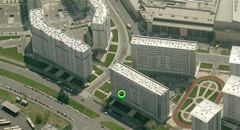 Urban Pets lokacija - Belville, Delta City, Novi Beograd