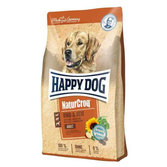 Happy Dog hrana za pse Naturcroq - govedina i pirinač 15kg
