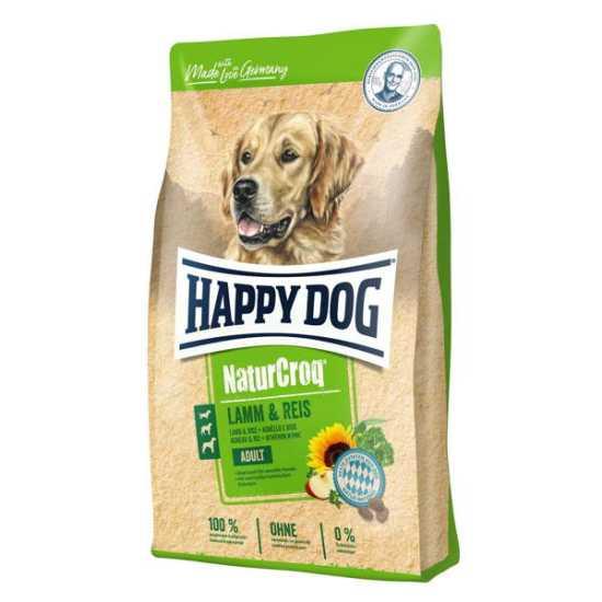 Happy Dog hrana za pse Naturcroq - jagnjetina i pirinač 15kg