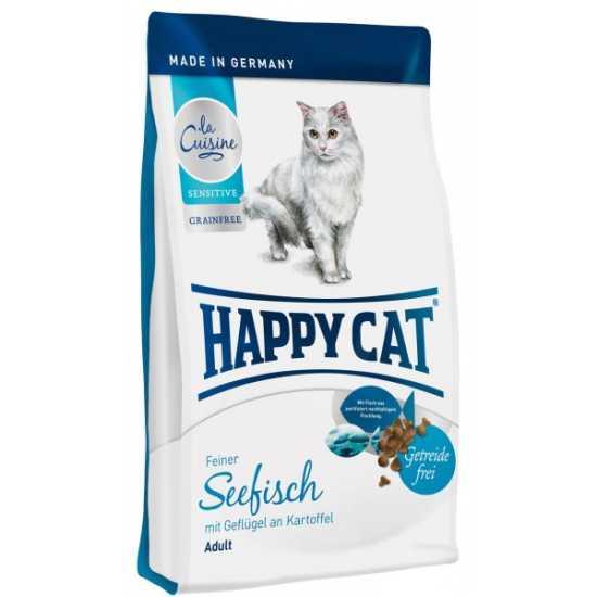 Happy Cat hrana za mačke La Cuisine Morska Riba & Smokva 1.4kg