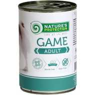 Nature's Protection konzerva za pse - Adult Game 400gr