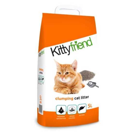 KittyFriend - Clumping - grudvajući posip za mačke - 5kg