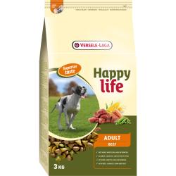 Happy Life hrana za pse Adult Beef 15kg
