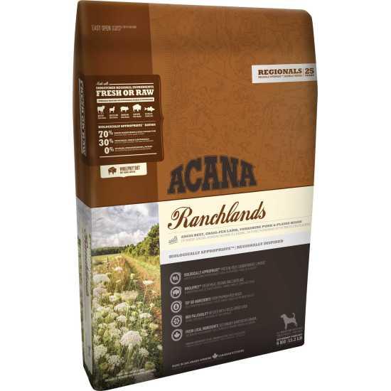 Acana hrana za pse Regionals Ranchlands 11.4kg